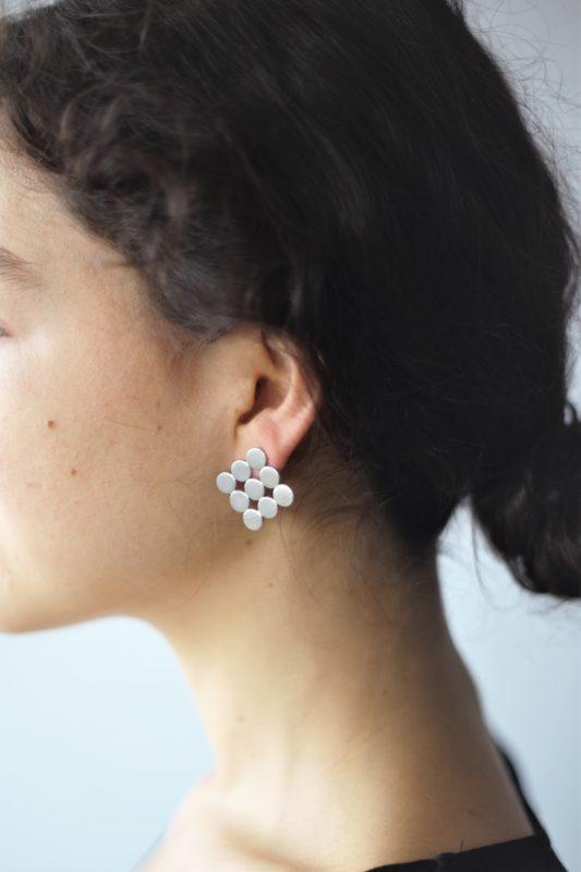 17 Rhomboide earrings