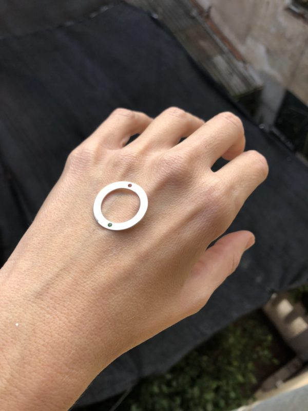 23 Two stones ring