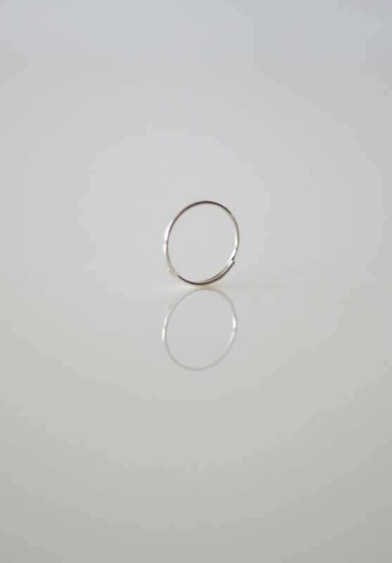 25 loop ring 1mm